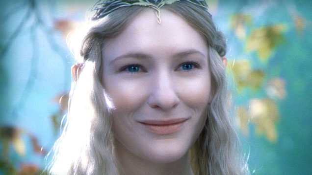 Cate Blanchett in The Hobbit