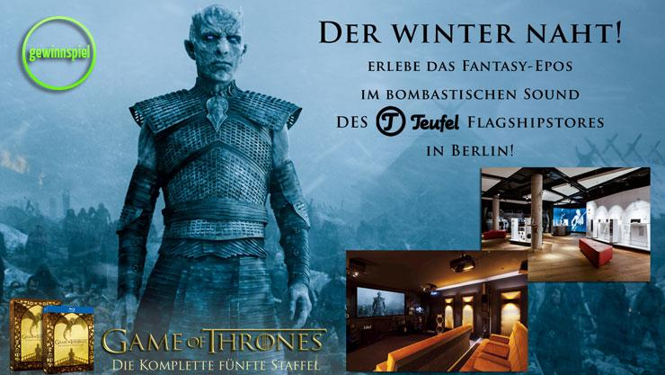 Game of Thrones: Gewinne ein exklusives Screening bei Teufel