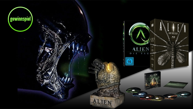 Alien Anthology: Gewinne tolle Special Editions des Sci-Fi-Klassikers