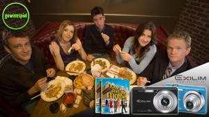 How I Met Your Mother - Staffel 6: Hol dir eine von vier edlen CASIO Digitalkameras!