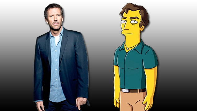 House: Hugh Laurie zu Gast bei The Simpsons