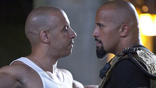 Fast Five: Vin Diesel trifft auch The Rock