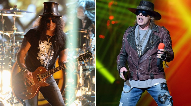 Guns N' Roses: Slash und Axl Rose feiern Reunion