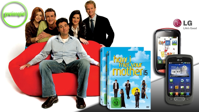 How I Met Your Mother – Season 5: LG Smartphones und DVD-Boxen zu gewinnen!