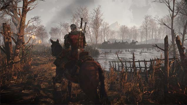 The Witcher 3: Die Spielwelt im Video
