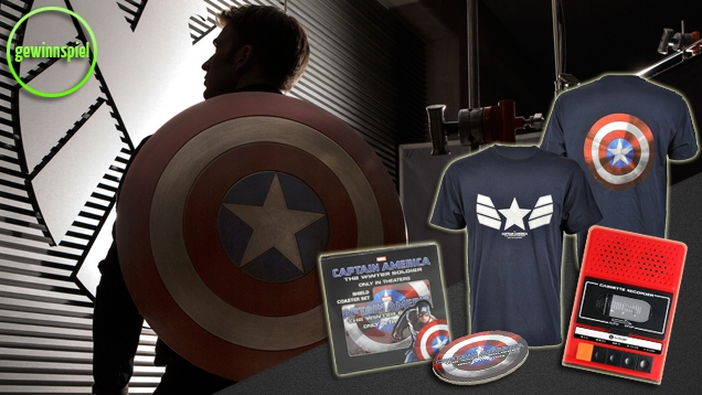 Captain America 2 – The Return of the First Avenger: Gewinne starke Fanpakete