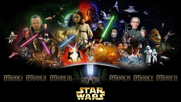 Star Wars: Complete Saga I-VI ab 16. September auf Blu-ray!