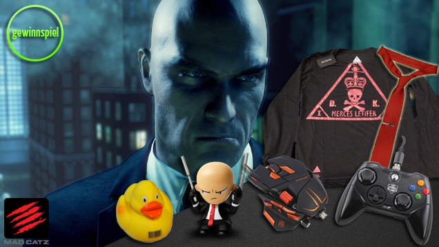Hitman - Absolution: Gewinne Gaming-Equipment von MadCatz!