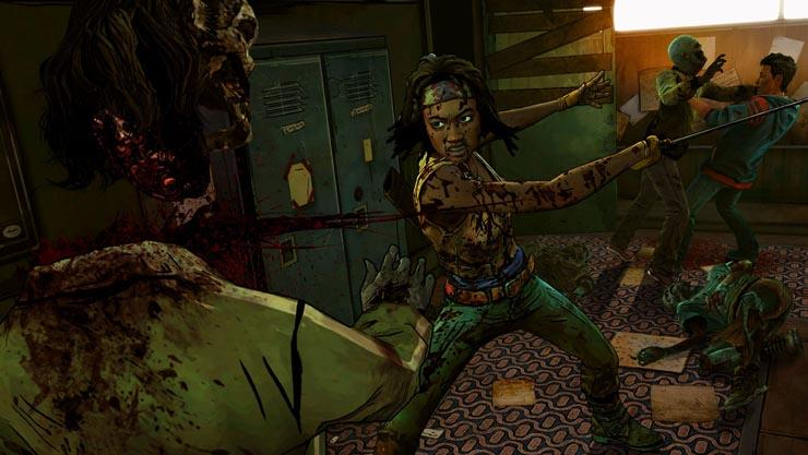 The Walking Dead - Michonne: Die ersten Spielminuten im Video